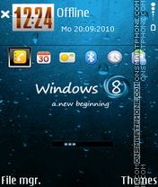 Windows 8 01 es el tema de pantalla