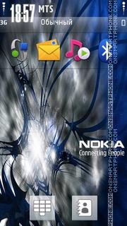 Capture d'écran Nokia Blue 04 thème