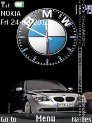 Bmw X6 Clock theme screenshot