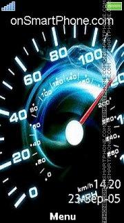 Speed 288 es el tema de pantalla