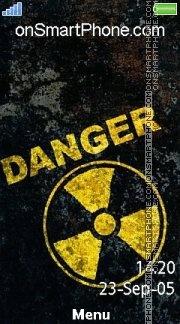 Danger 10 es el tema de pantalla