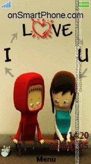 I Love You 28 es el tema de pantalla
