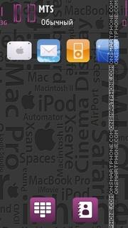 Apple Theme 05 tema screenshot