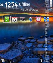 Sundown S60 v3 es el tema de pantalla