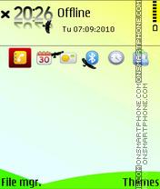 Sky 08 es el tema de pantalla