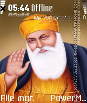 Guru nanak ji es el tema de pantalla