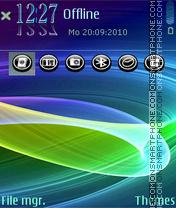 Whirl11 es el tema de pantalla