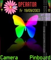 Butterfly es el tema de pantalla