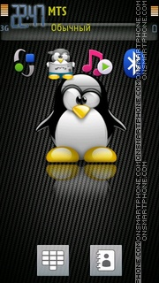 Penguine tema screenshot