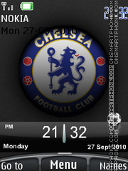 Chelsea 2010 01 theme screenshot