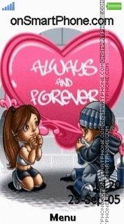 Forever Love 04 es el tema de pantalla