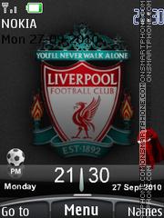 Liverpool 2010 theme screenshot