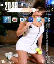 Pinder tenis theme screenshot