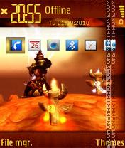 Wow sm theme screenshot