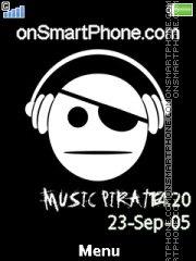 Music Pirate 01 es el tema de pantalla