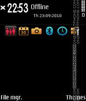 Dark 02 es el tema de pantalla
