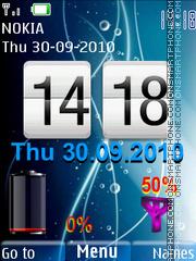 Nokia Blue Battery es el tema de pantalla