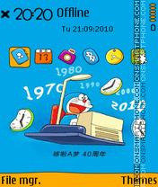 Doraemon 08 es el tema de pantalla