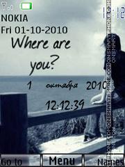 Where are you? theme screenshot