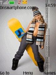 Snowboard 05 theme screenshot