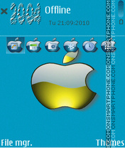 Apple-3rd theme screenshot