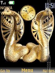 Cobra clock theme screenshot