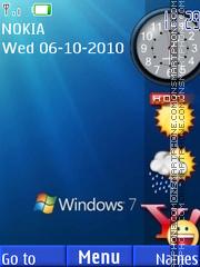 Windows Side Bar theme screenshot