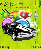 Classic car 01 theme screenshot