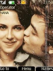 Edward n Bella Kiss es el tema de pantalla