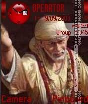 Sai Baba Ji theme screenshot