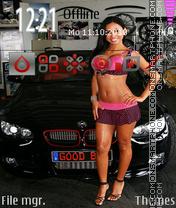 BMW Girl es el tema de pantalla