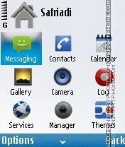 Nokia android by 4di es el tema de pantalla
