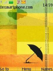 Umbrella 04 es el tema de pantalla