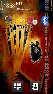 Cards 03 theme screenshot