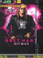 Bret Hart theme screenshot