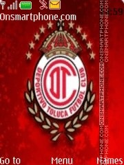 Club Toluca es el tema de pantalla