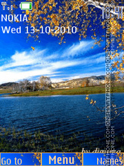 Autumn by djgurza (swf 2.0) es el tema de pantalla