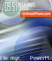 ChoC09 theme screenshot