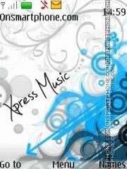 Vector Xpressmusic theme screenshot