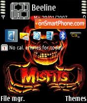 Misfits es el tema de pantalla