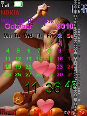Nu-de blonde 01 theme screenshot