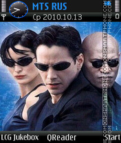 Matrix-remake theme screenshot
