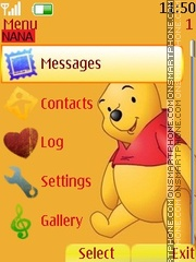 Winnie Clock es el tema de pantalla