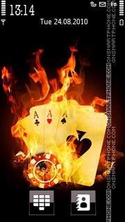 Fire Poker es el tema de pantalla