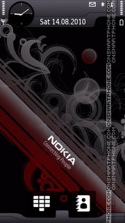 Nokia Abstract 03 theme screenshot