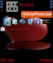 Red Heart es el tema de pantalla