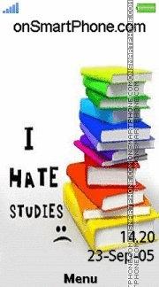 Hate Studies es el tema de pantalla