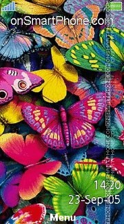 Butterflies 03 es el tema de pantalla
