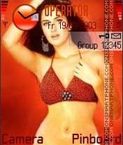 Katrina Bikini theme screenshot