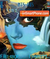 Faces theme screenshot
